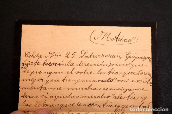 Libros antiguos: CARCEL DE MUJERES DE SATURRARAN - CARTA DE PRESA 1939 - GUERRA CIVIL - Foto 4 - 195073565