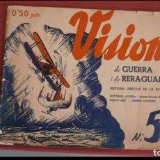 Libros antiguos: VISIONS DE GUERRA I RERAGUARDA. SERIE B. Nº 5. Lote 195306363
