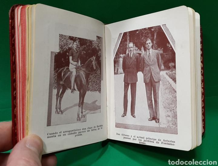 Libros antiguos: GUERRA CIVIL ESPAÑOLA, REY ALFONSO XIII, ALMANAQUE MONÁRQUICO 1936 + 200 FOTOS BORBONES EN EL EXILIO - Foto 4 - 195323933