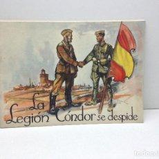 Libros antiguos: LA LEGION CONDOR SE DESPIDE - ARTES GRAFICAS ALDUS SANTANDER 1939. Lote 195422540