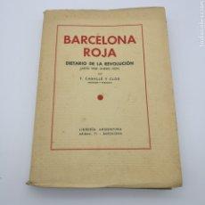 Libros antiguos: BARCELONA ROJA. Lote 195939913