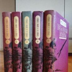 Livros antigos: CRONICA DE LA GUERRA ESPAÑOLA -- 5 TOMOS -- EDITORIAL CODEX 1966. Lote 196234091