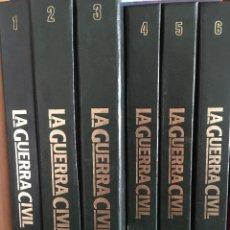 Libros antiguos: HISTORIA DE LA GUERRA CIVIL - HISTORIA 16 (6 VOLS. ENCUADERNADOS). Lote 196447537
