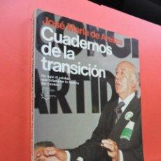 Livros antigos: CUADERNOS DE LA TRANSICIÓN. AREILZA, JOSÉ Mª. 2ª ED. EDITORIAL PLANETA. BARCELONA 1983.. Lote 197074016
