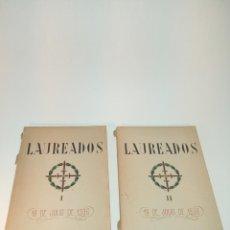 Libros antiguos: LAUREADOS. 18 DE JULIO DE 1936. 2 TOMOS. FIRMADO POR FERMINA BONILLA ( DIRECCIÓN DE LA OBRA ). 1940.. Lote 197221118