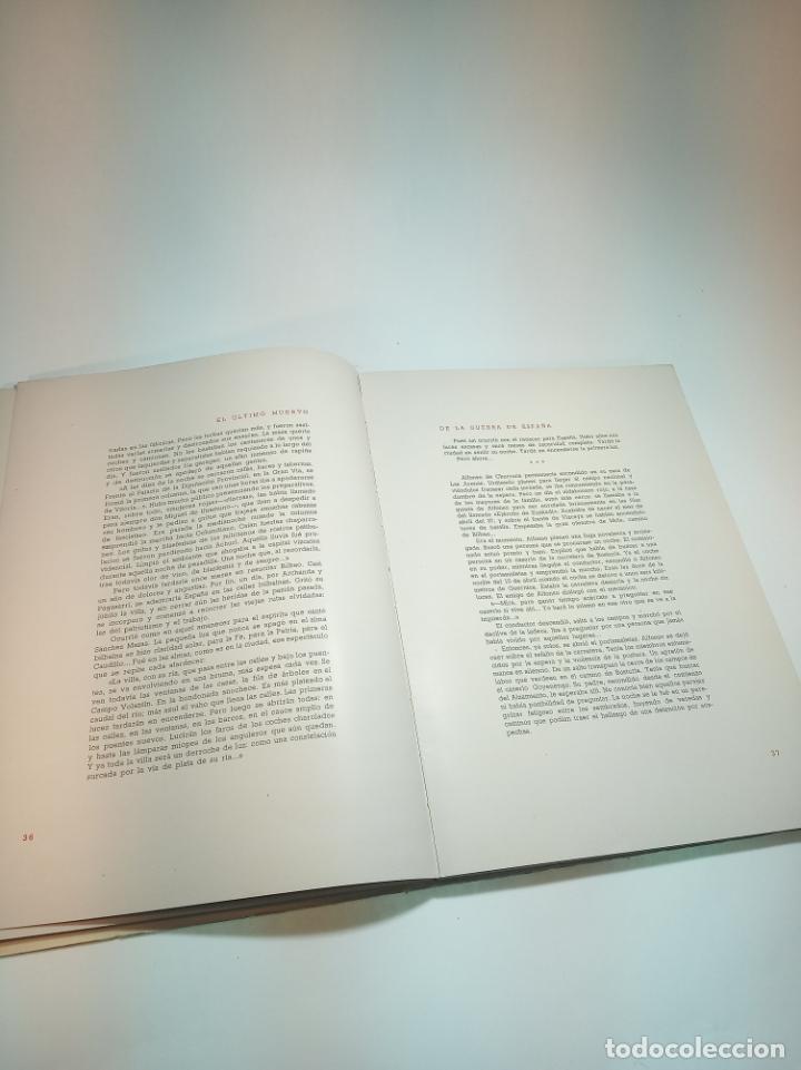 Libros antiguos: El último muerto de la guerra civil Española. Lucio Del Alamo. Firmado y dedicado. 1944. Madrid. - Foto 5 - 197223088