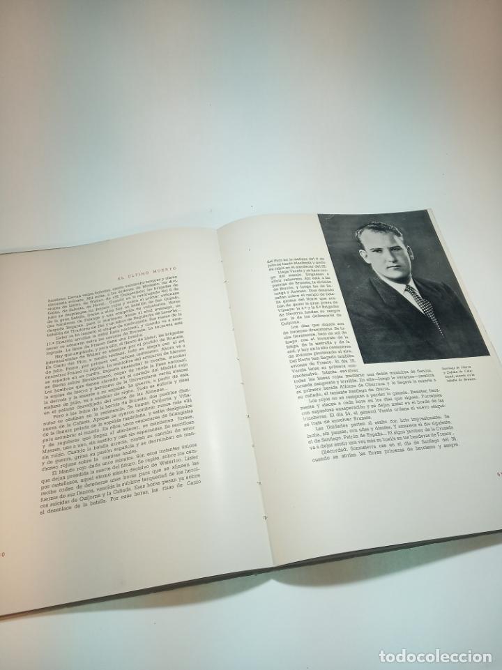 Libros antiguos: El último muerto de la guerra civil Española. Lucio Del Alamo. Firmado y dedicado. 1944. Madrid. - Foto 6 - 197223088