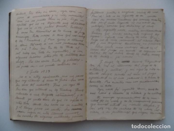 Libros antiguos: LIBRERIA GHOTICA. DIETARIO MANUSCRITO INÉDITO DE UN COMBATIENTE DEL FRENTE DE GUADALAJARA.1936-1939. - Foto 2 - 197431241