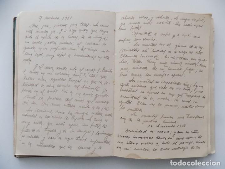 Libros antiguos: LIBRERIA GHOTICA. DIETARIO MANUSCRITO INÉDITO DE UN COMBATIENTE DEL FRENTE DE GUADALAJARA.1936-1939. - Foto 3 - 197431241