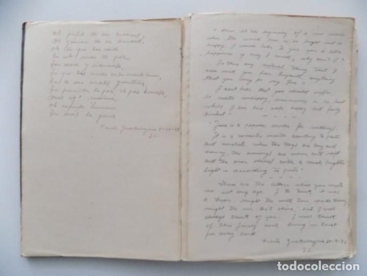 Libros antiguos: LIBRERIA GHOTICA. DIETARIO MANUSCRITO INÉDITO DE UN COMBATIENTE DEL FRENTE DE GUADALAJARA.1936-1939. - Foto 5 - 197431241