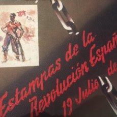 Libros antiguos: BLOC ESPIRAL ESTAMPAS DE LA REVOLUCIÓN ESPAÑOLA 19 JULIO DE 1936 (SIM). Lote 204284096