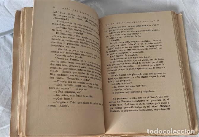 Libros antiguos: BAJO LAS GARRAS DEL S. I. M. LAS CHEKAS DE CATALUÑA MARTIN INGLES 1940 FIRMADO - Foto 3 - 206168478