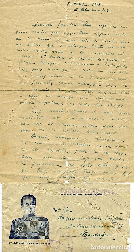 Libros antiguos: ANTOLOGÍA POÉTICA DEL ALZAMIENTO 1936-1939, con carta, sobre y tarjetón manuscritos - Foto 13 - 208235815