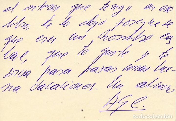 Libros antiguos: ANTOLOGÍA POÉTICA DEL ALZAMIENTO 1936-1939, con carta, sobre y tarjetón manuscritos - Foto 6 - 208235815