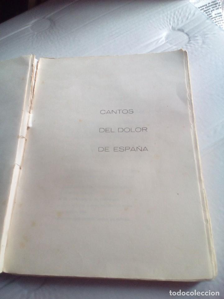 Libros antiguos: ANTOLOGÍA POÉTICA DEL ALZAMIENTO 1936-1939, con carta, sobre y tarjetón manuscritos - Foto 7 - 208235815