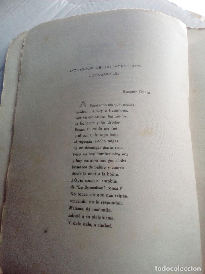 Libros antiguos: ANTOLOGÍA POÉTICA DEL ALZAMIENTO 1936-1939, con carta, sobre y tarjetón manuscritos - Foto 8 - 208235815