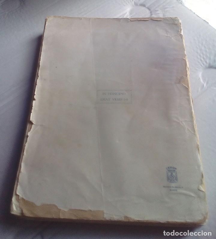 Libros antiguos: ANTOLOGÍA POÉTICA DEL ALZAMIENTO 1936-1939, con carta, sobre y tarjetón manuscritos - Foto 11 - 208235815