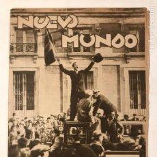 Libros antiguos: REIVISTA NUEVO MUNDO.17 ABRIL 1931 .PROCLAMACION REPUBLICA ESPAÑOLA.. Lote 215001267