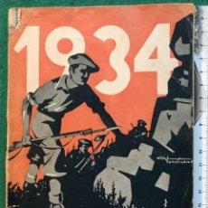 Libros antiguos: ALMANAQUE TRADICIONALISTA PARA 1934. CARLISTA. GUERRA CIVIL. Lote 225375430