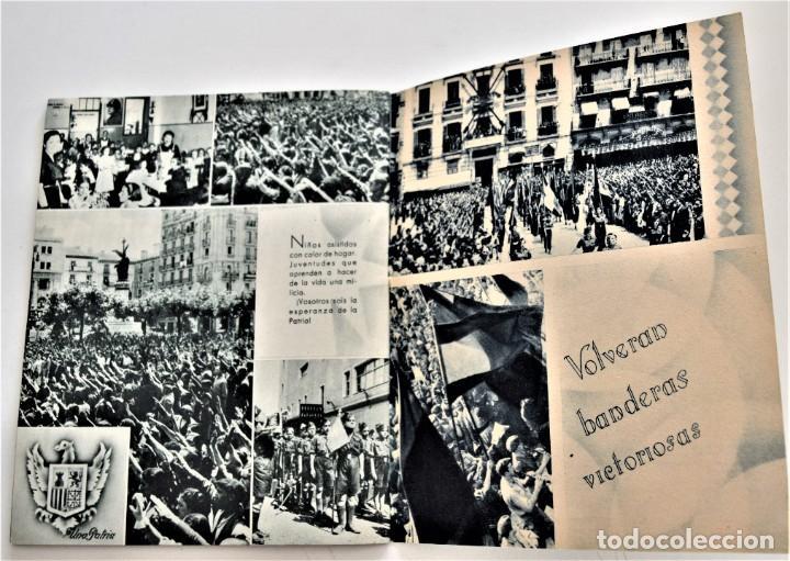 Libros antiguos: ESTAMPAS DE LA GUERRA. 5º CUERPO DEL EJERCITO. ZARAGOZA DICIEMBRE 1937 AÑO TRIUNFAL. - Foto 6 - 216017046
