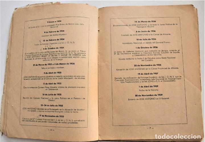 Libros antiguos: ETAPAS HISTÓRICAS DE LA REVOLUCIÓN NACIONAL-SINDICALISTA - EDITADO POR LA REGIDURA DE PROPAGANDA - Foto 5 - 216018457
