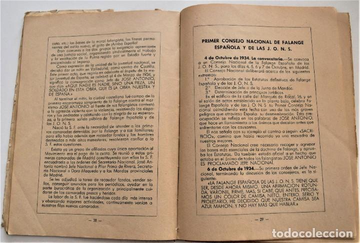 Libros antiguos: ETAPAS HISTÓRICAS DE LA REVOLUCIÓN NACIONAL-SINDICALISTA - EDITADO POR LA REGIDURA DE PROPAGANDA - Foto 7 - 216018457