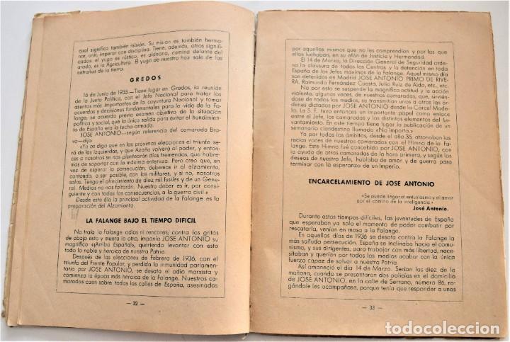 Libros antiguos: ETAPAS HISTÓRICAS DE LA REVOLUCIÓN NACIONAL-SINDICALISTA - EDITADO POR LA REGIDURA DE PROPAGANDA - Foto 8 - 216018457