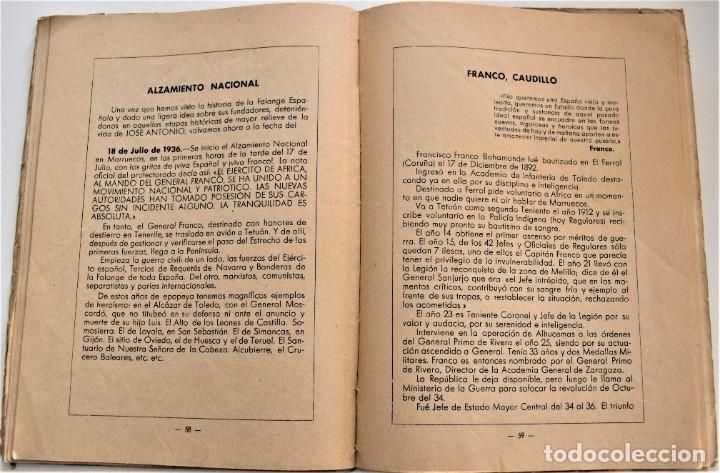 Libros antiguos: ETAPAS HISTÓRICAS DE LA REVOLUCIÓN NACIONAL-SINDICALISTA - EDITADO POR LA REGIDURA DE PROPAGANDA - Foto 9 - 216018457