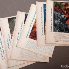 Libros antiguos: ESTUDIOS - MONLEON - 6 COMPOSICIONES - LA LUCHA POR LA VIDA. Lote 222036746