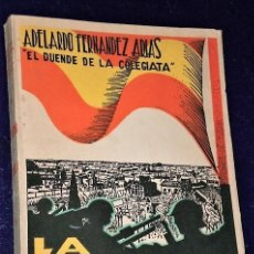 Libros antiguos: LA AGONÍA DE MADRID. DIARIO DE UN SUPERVIVIENTE.(1938). Lote 222854795