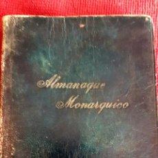 Libros antiguos: ALMANAQUE MONARQUICO DE 1936, PREFACIO DEL CABALLERO AUDAZ,COLECCIÓN AL SERVICIO DEL PUEBLO.. Lote 223514928