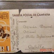Libros antiguos: REPUBLICA ESPAÑOLA-TARJETA POSTAL DE CAMPAÑA 1935. Lote 227476815