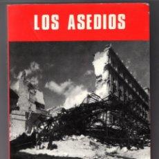 Libros antiguos: LOS ASEDIOS MONOGRAFÍAS DE LA GUERRA DE ESPAÑA SERVICIO HISTÓRICO MILITAR. Lote 234690230