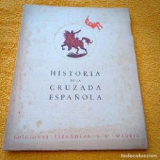 Libros antiguos: HISTORIA DE LA CRUZADA ESPAÑOLA V. VLL, TOMO XXIX. Lote 236161465