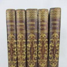 Libros antiguos: HISTORIA DE LA GUERRA CIVIL Y DE LOS PARTIDOS LIBERAL Y CARLISTA - POR ANTONIO PIRALA - MADRID 1856. Lote 240815750