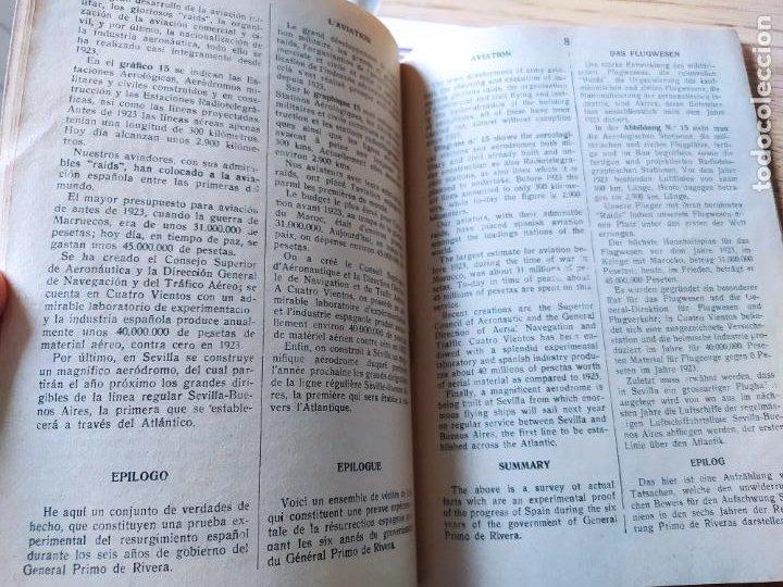 Libros antiguos: Dictadura Primo de Rivera. La Nueva España, Folleto propagandistico, 1930 MUY RARO - Foto 10 - 240874460