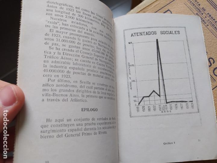 Libros antiguos: Dictadura Primo de Rivera, La Nueva España, Pequeño opusculo, 1929. muy raro - Foto 6 - 240877155