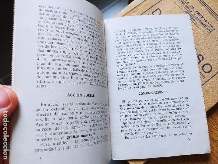 Libros antiguos: Dictadura Primo de Rivera, La Nueva España, Pequeño opusculo, 1929. muy raro - Foto 7 - 240877155
