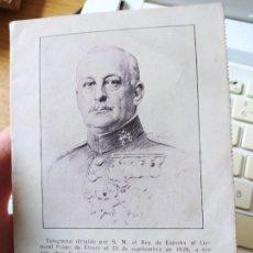 Libros antiguos: DICTADURA PRIMO DE RIVERA, LA NUEVA ESPAÑA, PEQUEÑO OPUSCULO, 1929. MUY RARO. Lote 240877155
