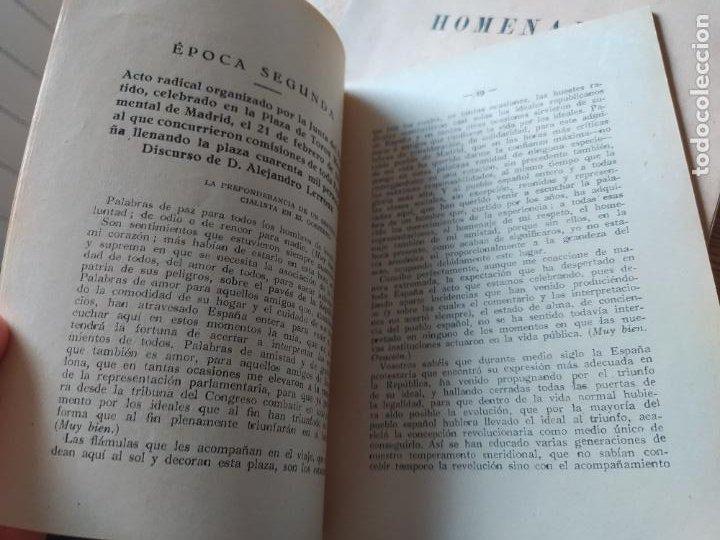 Libros antiguos: Guerra civil. Tres épocas memorables, Partido republicano Radical. Recop. Bernardo Izcaray. 1934 - Foto 6 - 240979130