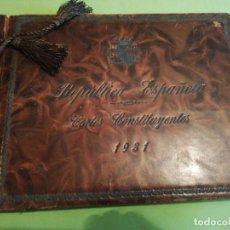 Libros antiguos: LIBRO ALBUM CONMEMORATIVO PROCLAMACIÓN 2 REPÚBLICA ESPAÑOLA CORTES 1931. Lote 254667785