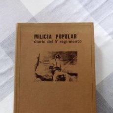 Livres anciens: DIARIO MILICIA POPULAR. Lote 264535174