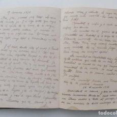 Libros antiguos: LIBRERIA GHOTICA. DIETARIO MANUSCRITO INÉDITO DE UN COMBATIENTE DEL FRENTE DE GUADALAJARA.1936-1939.. Lote 265499234