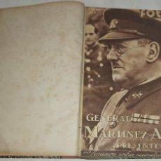 Libros antiguos: ENCUADERNACIÓN SEMANARIO GRÁFICO NACIONALSINDICALISTA - AÑO 1939. Lote 271021893