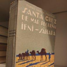 Livres anciens: LIBRO SANTA CRUZ DE MAR PEQUEÑA IFNI SÁHARA, 1941, GARCÍA FIGUERAS. Lote 274277783