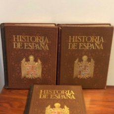 Libros antiguos: HISTORIA DE ESPAÑA POR MANUEL RODRIGUEZ CÓDOLA. COLECCIÓN COMPLETA.. Lote 275684918
