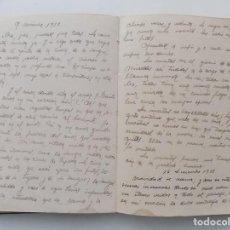 Libros antiguos: LIBRERIA GHOTICA. DIETARIO MANUSCRITO INÉDITO DE UN COMBATIENTE DEL FRENTE DE GUADALAJARA.1936-1939.. Lote 275975443