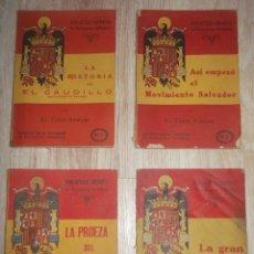 Libros antiguos: LOTE 28 LIBROS BIBLIOTECA INFANTIL LA RECONQUISTA DE ESPAÑA. EL TEBIB ARRUMI. Lote 276396993