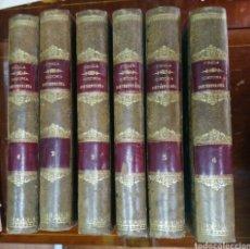 Libros antiguos: HISTORIA CONTEMPORANEA CONCLUSIÓN DE LA ACTUAL GUERRA CIVIL*ANTONIO PIRALA SEIS TOMOS-AÑO 1875. Lote 285410453