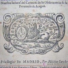 Libros antiguos: 1652 - QUINTA PARTE DE LA HISTORIA PONTIFICAL Y CATOLICA - FRAY MARCOS DE GUADALAJARA. Lote 27133880
